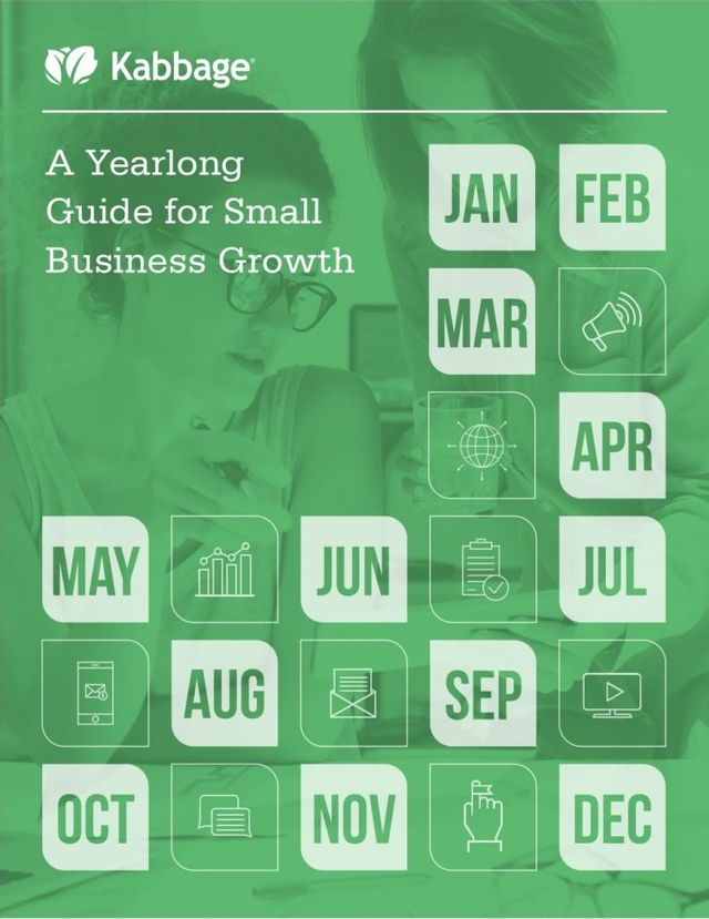 A year-long guide for small business growth